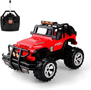 RC Car for Kids, 1:16 Remote Control Car Electric Racing Car Off Road, High Speed Off Road Desert Buggy Vehicle 2.4Ghz 4WD Electric Racing Car
