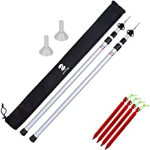 Feet for 25mm Poles Pack Of 4 Tent Pole Ground Plates