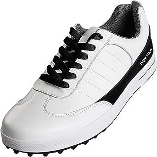 أحذية الجولف الرجالية القابلة للطلاب والأحذية الرياضية الرياضية المصنوعة من الألياف الدقيقة من الجلد، أحذية جولف مسامية وم...