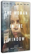 Kvinnan i fönstret psykologisk thriller film canvas affisch sovrum dekor sport landskap kontor rum dekor gåva 40 × 60 cm (...