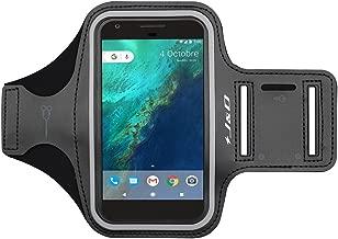 J&D Armband Compatible for Google Pixel 3a XL/Pixel 3 XL/Pixel 2 XL/Pixel XL/iPhone 8 Plus/7 Plus/6S Plus/6 Plus/iPhone Xs Max Armband, Sports Running Armband w/Key Holder Slot & Earphone Connection