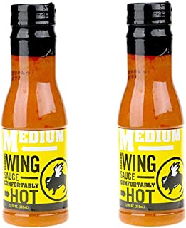 Buffalo Wild Wings Barbecue Sauces, Spices, Seasonings and Rubs For: Meat, Ribs, Rib, Chicken, Pork, Steak, Wings, Turkey, Barbecue, Smoker, Crock-Pot, Oven (Medium, (2) Pack)