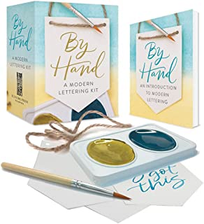 By Hand: A Modern Lettering Kit (RP Minis)