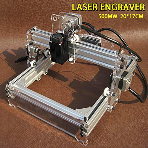 500MW 3 Achsen Mini Lasergravierer USB CNC Router Fräsmaschine Laser DIY Graviermaschine Holz Graviergerät Graviermaschine Kit