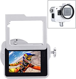 PULUZ for GoPro Hero 7 Black New Hero (2018) Hero 6/5 CNC Aluminum Alloy Housing Shell Case Protective Cage with Insurance Frame & 52mm UV Lens (Silver)