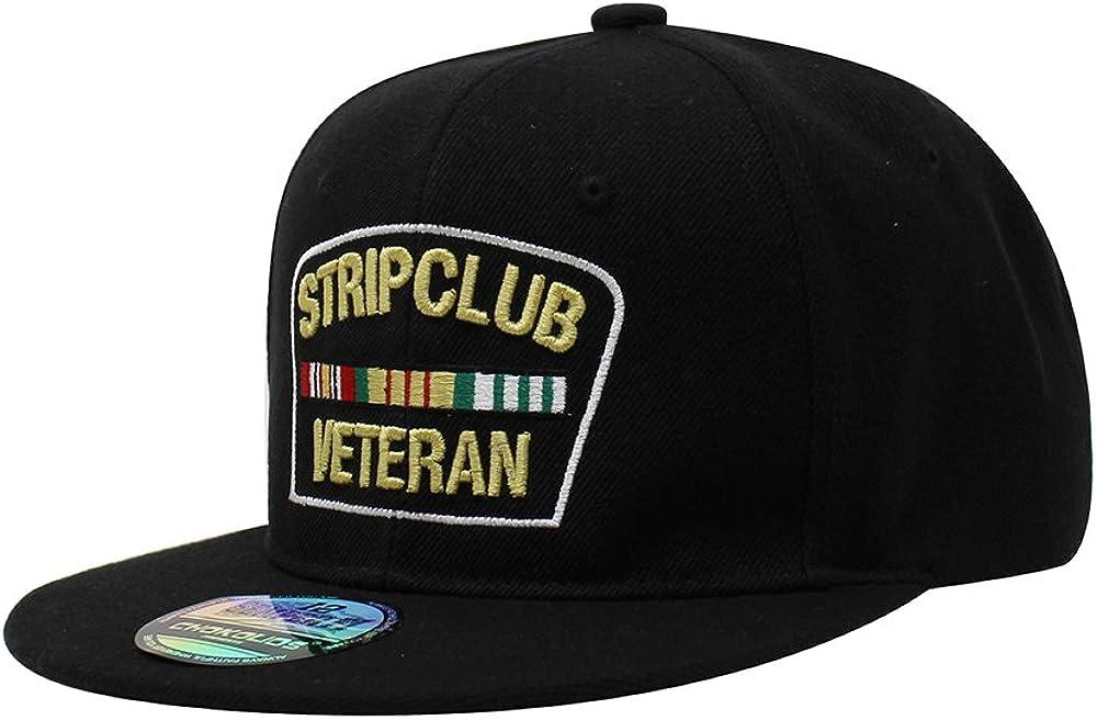 Strip Club Philadelphia Mall Veteran Flat Visor Clo Cap Baseball Ball Max 61% OFF Snapback