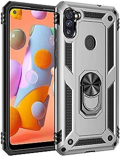 جراب XINKOE لهاتف Samsung Galaxy A11، مصنوع من مادة TPU TPU 2 في 1 فائق النحافة [نحيف] [مضاد للخدش] [ممتص للصدمات] [متين] فضي