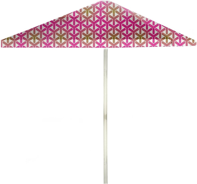 Best of Times Stargazer Patio Umbrella, 8', gold Pink White