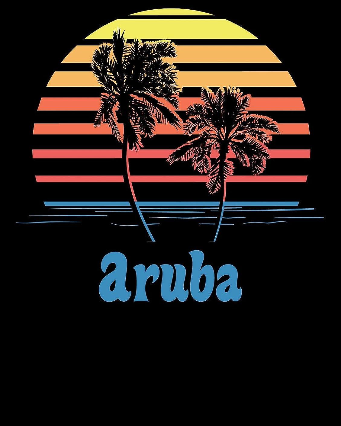 ホールドオールエリート燃料Aruba: Beach Vacation Travel Planner and Journal (8 x 10)
