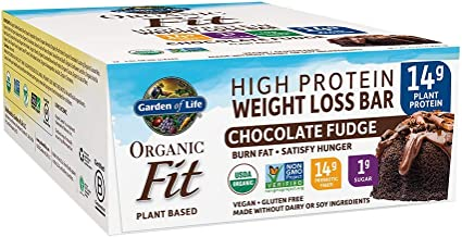 Garden of Life Organic Fit Bar Chocolate Fudge (12 per carton)
