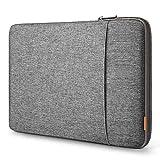 Inateck 360° Rundum-Schutz Tasche für das MacBook - Rundum-Polsterung, extra verstärkte Kanten, zusätzliches Staufach für Zubehör, weiche Flanell-Fütterung