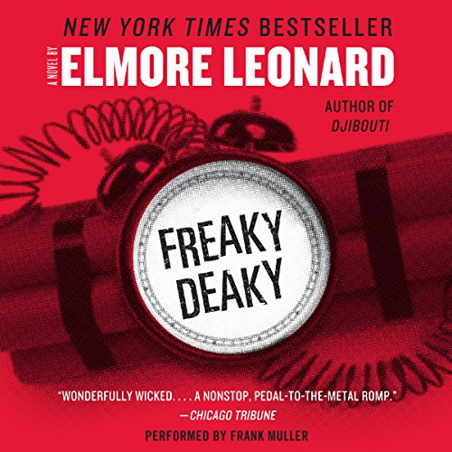Freaky Deaky audiobook cover art