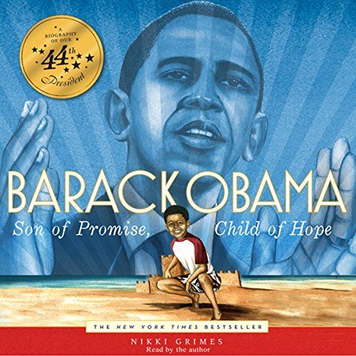 Barack Obama audiobook cover art