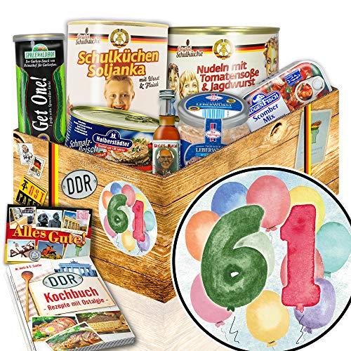 61. Geburtstagsgeschenke - 61 Geburtstag witzige Geschenke - Ossi Produkte