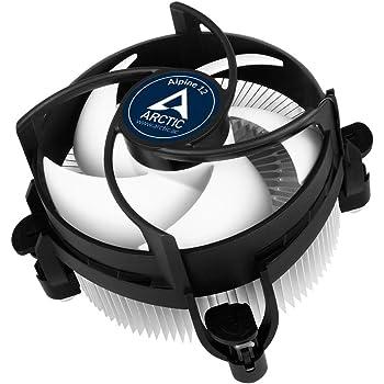 ARCTIC Alpine 12 - Refroidisseur Silencieux - Ventilateur pour CPU - pales 92mm - Fonction de contrôle PWM - Aluminium - 2 000 RPM