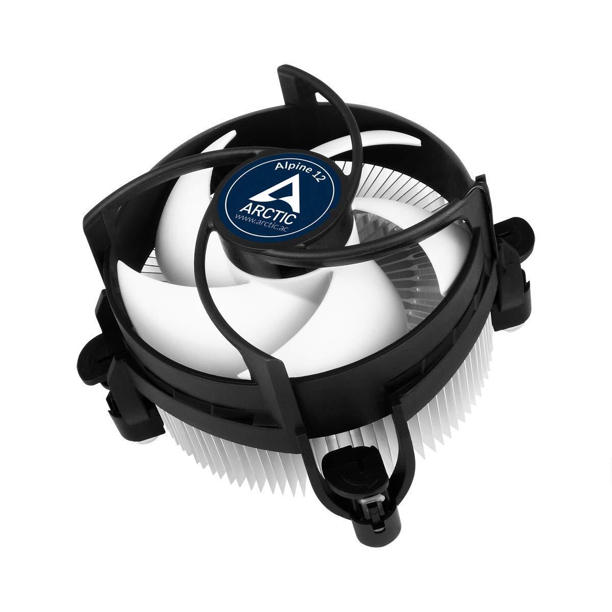 ARCTIC Alpine 12 - Refrigeración de CPU - Ventilador de CPU - 92mm - Tecnología intercambio PWM - Aluminio - 150-2000 RPM: Amazon.es: Informática