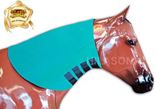 HILASON Large Turquoise Heavy Duty Horse Neoprene Neck Sweat WRAP Grooming TACK