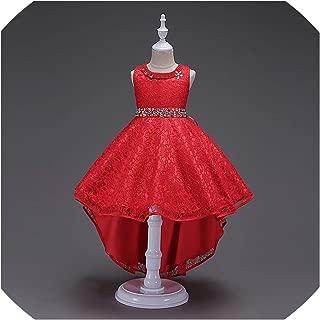 Summer Kids Dresses for Girls Wedding Elegant Sleeveless Clothes Formal Princess Evening Party Toddler Dress