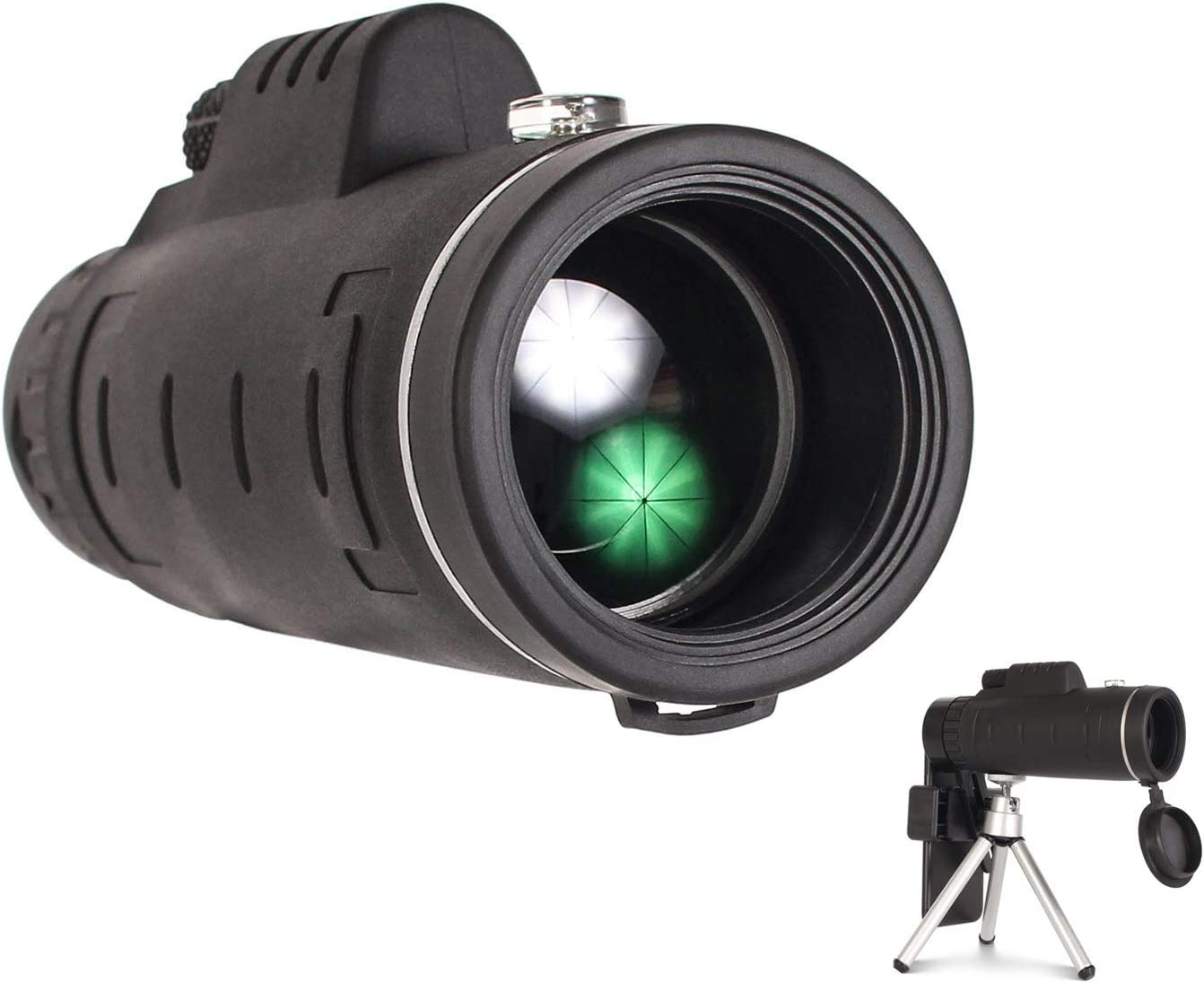 DWP Monocular Telescope half - with 12x50 Lens Al sold out. Smartphone Free 3in1