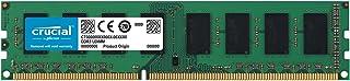 Crucial CT102464BD160B 8GB (1x8GB) DDR3L UDIMM 1600MHz CL11 1.35V Dual Ranked Single Stick Desktop PC Memory RAM