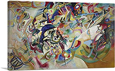 ARTCANVAS Composition VII 1913 Canvas Art Print by Wassily Kandinsky by ARTCANVAS