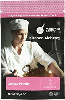 Pure Lactose Powder ❤ Gluten-Free ✡ OU Dairy Kosher Certified - 200g/7oz.