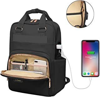 Laptop Backpack 15.6 Inch Water Resistant, with USB Charging Port