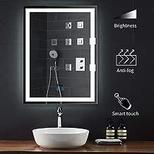 jieGorge Anti Fog Free Shower Mirror Portable Bathroom Fogless Fog Free Mirror Washroom Travel Fogless Shaving Wall Hanging