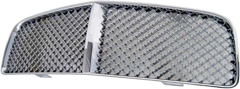 Grille Compatible With 2006-2010 高級 DODGE Styl CHARGER Mesh デポー Chrome