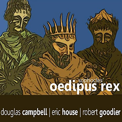 Oedipus Rex audiobook cover art