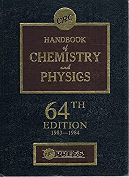 Hardcover CRC Handbook of Chemistry and Physics 64th Ed. 1983-1984 Book