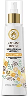 Mom & World Radiant Boost Brightening Vitamins Wakeup Mist, 100ml - For Refreshed, Hydrated & Radiant Skin