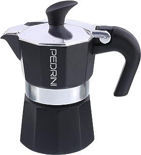 ماكينة تحضير قهوة الومنيوم لكوب واحد من بيدريني - اسود