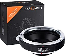 K&F Concept Lens Mount Adapter for Canon EF Mount to Samsung NX Lens Camera Body EF-NX