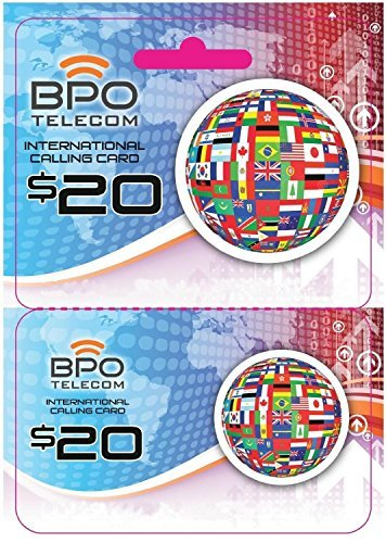 $20 Call to Japan and Other Countries! Rechargeable International Calling Card No Hidden Fees