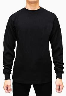 Men's Heavyweight Long Sleeve Thermal Crew Neck Top