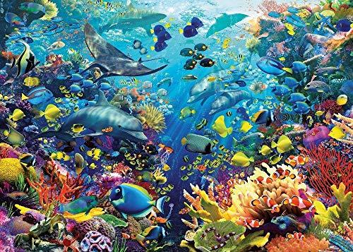 SiJOO Sea World Underwater Paradise 9000 Niños Adultos de Madera Rompecabezas Juegos Juegos