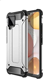 DOHUI Case for Samsung Galaxy A42 5G, [Dual Layer] Heavy Duty Rugged Hybrid Armor Cover, Air Cushion Technology, Shock Res...