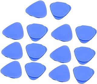 uxcell 三角オープナー ブルー プラスチック材質 ティアダウンツール 三角形 14個入り