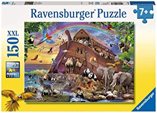 Ravensburger 100385 Boarding The Ark Puzzle 150pc,Children's Puzzles