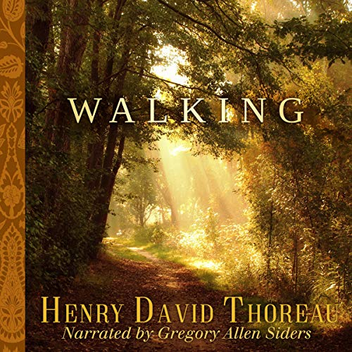 Walking Audiobook By Henry David Thoreau cover art