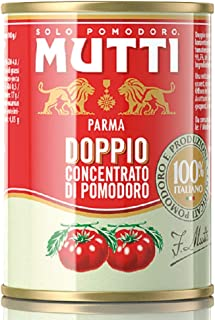 Mutti Double Concentrated Tomato Paste, 4.9 oz. Can, 12-Pack