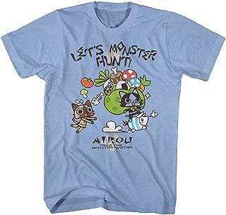 Monster Hunter Airou Let's Hunt Capcom Video Game Cartoon Adult T-Shirt