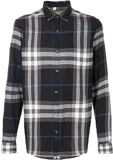 Men's Salwick Flannel Gray Check Cuff Shirt