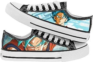 NLJ-lug Dragon Ball Cosplay Moda Casual Graffiti Zapatos De Lona Cos Personalidad Hip Hop Hombres Y Mujeres Zapatos De Est...