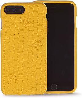 Pela: Biodegradable Phone Case for iPhone Plus 6+/6s+/7+/8+ - Plastic Free (Honey Bee)