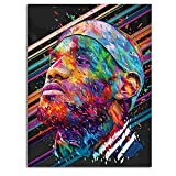 Ghychk Basketball Poster Superstar Paintings Superstar King