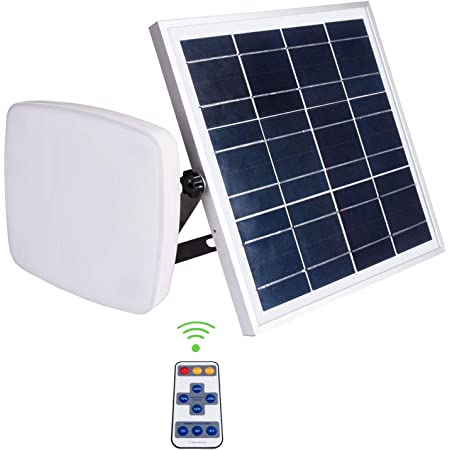 Solar LED lighting system- 2 x 2W comparable LED lights Charge Controller Falove USB Port with Cell Phone Cables Included 3.7 V // 8000 mah Lithium Battery 6W Portable Solar Panel