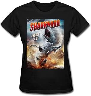 Tongda Women's Sharknado Enough Said T-shirt XS Black