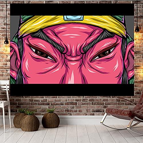 YDyun Tapiz El Tapiz Tapices para Colgar en la Pared Decoración del hogar Paño de decoración de Dormitorio de Sala de Estar de Dibujos Animados de Tela Colgante